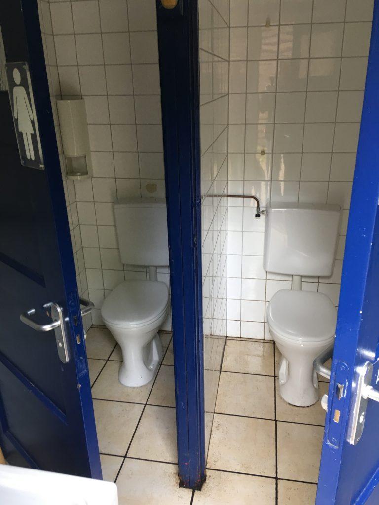 Toiletgroep tentveld